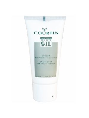Courtin 24h cream met originele tea tree oil - 50ml