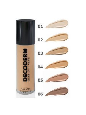 16H Aqua Foundation - 30ml