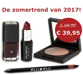 Make-up zomer trend 2017