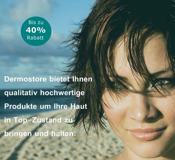 Dermostore bietet Marken wo Kosmetikerinnen arbeiten.
