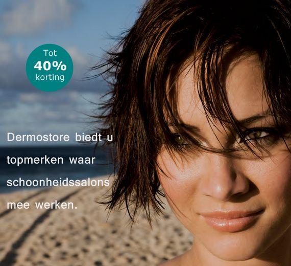 Dermostore biedt u topmerken waar schoonheidssalons mee werken.